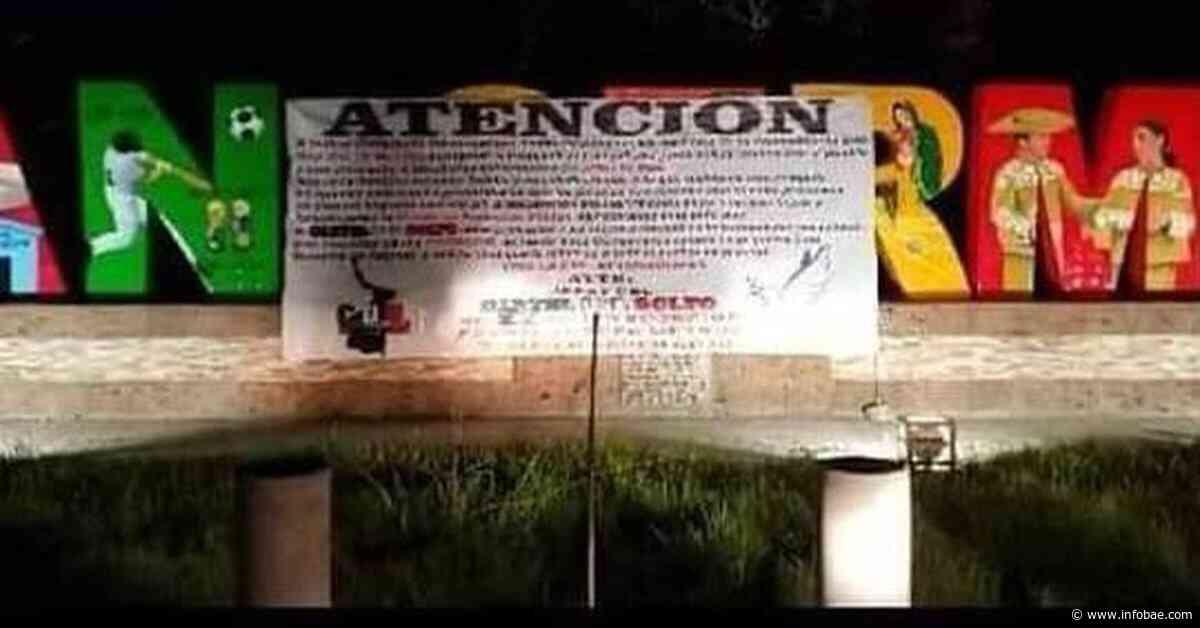 """""""Viva la paz en Tamaulipas"""": en mantas, el Cártel del Golfo aseguró tregua tras masacre - infobae"""