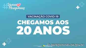 Paragominas vacina pessoas com 20 anos a partir de 26 de julho - Open Sans