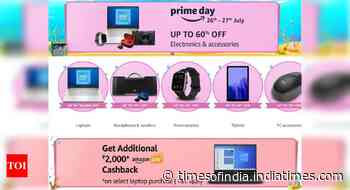 Amazon Electronics Sale: Up to 60% Off On Laptops, Tablets, Computer Accessories And More - Times of India
