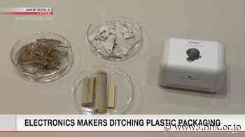 Electronics makers ditch plastic packaging - NHK WORLD