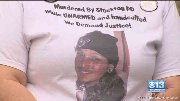 Rally Held At County DA's Office Demanding Unedited Footage In Death Of Shayne Sutherland, Who Died In Custody Of Stockton Police