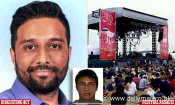 High flying public masturbator who ejaculated on women at music festival  walks free