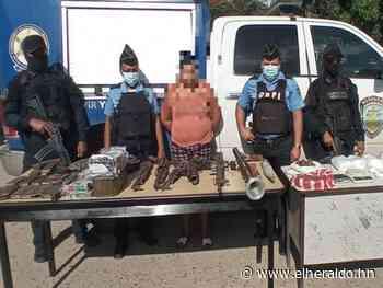 Con potente arsenal y drogas capturan a una mujer en Colón - ElHeraldo.hn