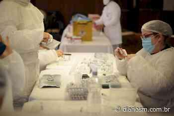 Santa Maria tem 23% da população imunizada contra Covid-19 - Diário de Santa Maria