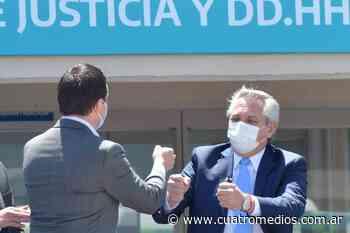 Florencio Varela: Alberto y Axel anuncian la ampliación de becas a estudiantes universitarios en la Universidad Jauretche - Cuatro Medios