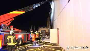 Nach nächtlichem Wohnmobil-Brand in der Marina in Bergkamen-Rünthe: Fitnesstreff California bleibt geöffnet... - wa.de