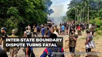 At least 6 cops killed, 80 injured in border boundary dispute between Assam and Mizoram