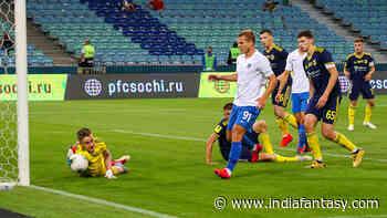 NIN vs SO Dream11 Nizhny Novgorod vs Sochi Live Score - India Fantasy