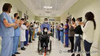 Monte Grande: superó el covid-19 y agradeció al Hospital del Bicentenario con un pasacalles - El Diario Sur