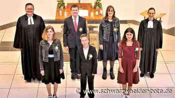 Drei Gottesdienste - Konfirmationen in Hochdorf und Schietingen - Schwarzwälder Bote