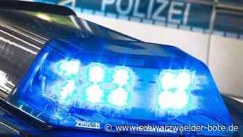 Falsche Polizisten unterwegs - Betrüger erbeuten in Nagold 70.000 Euro - Schwarzwälder Bote