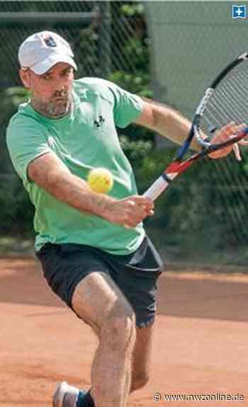 Tennisturnier in Edewecht: Favoriten setzen sich durch - Nordwest-Zeitung