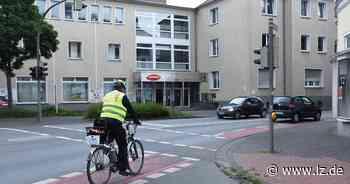Bielefelder Straße in Detmold birgt Gefahren für Radfahrer   Lokale Nachrichten aus Detmold - Lippische Landes-Zeitung