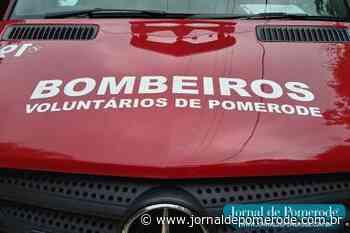 Jovem fica ferida em acidente na SC-110 - Jornal de Pomerode