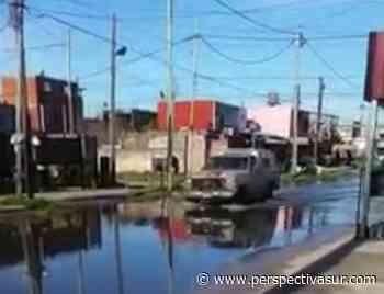 Reclamo por pluviales tapados en el barrio Santa María de Bernal Oeste - Perspectiva Sur