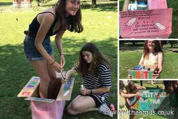 Brighton NCS teens use TikTok in period poverty campaign