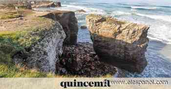Cierran el paso en la zona de una cueva de As Catedrais (Lugo) tras desprendimientos - El Español