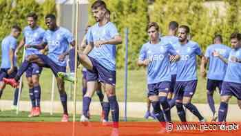 As imagens do segundo dia de treinos do FC Porto no estágio de pré-época no Algarve - Record