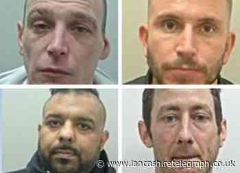 The 4 most wanted men in East Lancashire this week