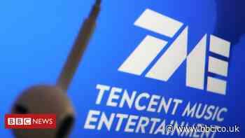 Tencent shares slide after Beijing crackdown on music rights