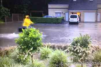 Wateroverlast in Tremelo (Tremelo) - Het Nieuwsblad