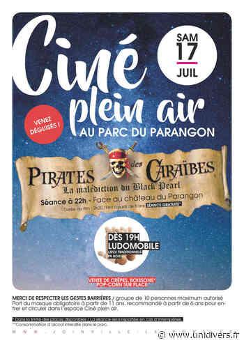 """Ciné Plein Air """"Pirates des Caraïbes"""" Parc du Parangon samedi 17 juillet 2021 - Unidivers"""