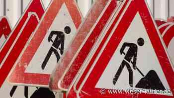 Trupermoorer Landstraße in Lilienthal wegen Bauarbeiten gesperrt - WESER-KURIER - WESER-KURIER