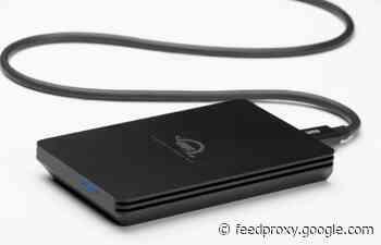 OWC Envoy Pro SX portable external SSD storage drive