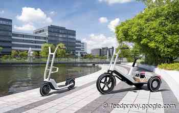 BMW Cargo bike and e-scooter concepts unveiled