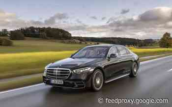 Mercedes S 580 e L plug-in hybrid on sale in the UK for £104,490