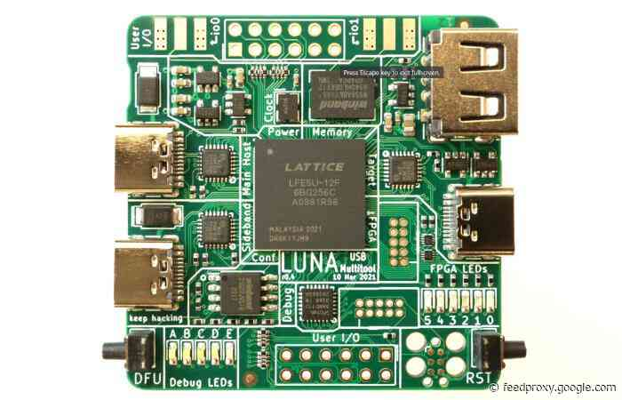 LUNA multitool for USB hacking, building and analyzing