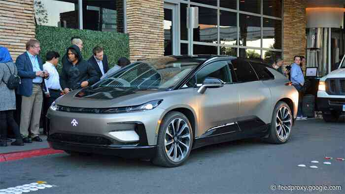 Faraday Future FF 91 promised to launch in 2022
