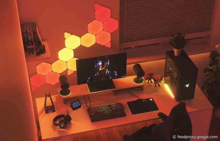 Nanoleaf and Razer announce seamless RGB integration