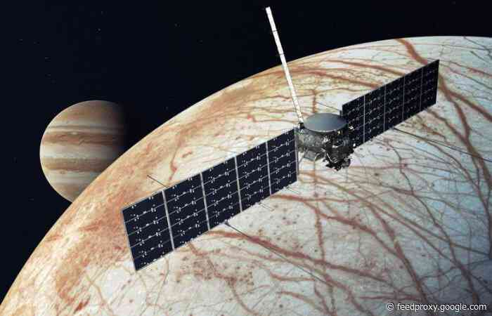 SpaceX wins contract to launch NASA Jupiter mission Europa Clipper