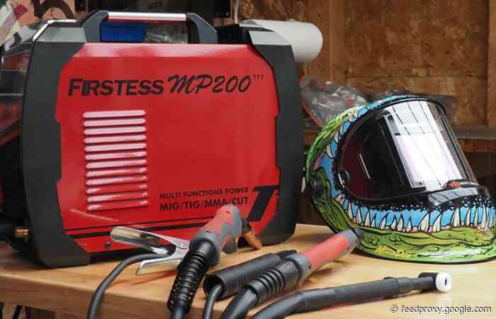 YesWelder FIRSTESS MP200 cutter and welder machine