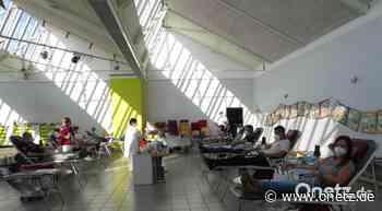 116 Blutspender bei Termin in Eschenbach - Onetz.de