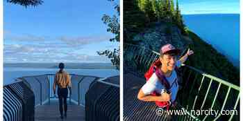 Ontario's Secret Lookout Is Perched On The Edge Of A Cliff & Has Jaw-Dropping Views - Narcity Canada
