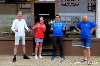 Dodentocht 2.0 van Dirk, Elysha en Erwin doet ook Beervelde en Zeveneken aan