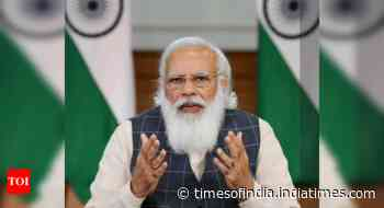 PM Modi to BJP MPs: Organise programmes in every village to mark 75 years of Independence