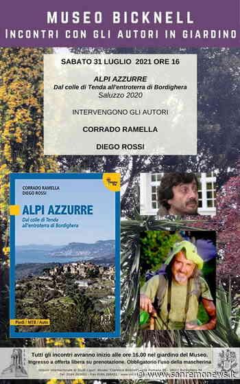 Bordighera: sabato prossimo, presentazione guida 'Alpi Azzurre. Dal colle di Tenda all'entroterra di Bordighera' - SanremoNews.it