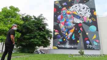 Villeneuve-Saint-Georges : lentement mais sûrement, le street art colonise les murs - Le Parisien