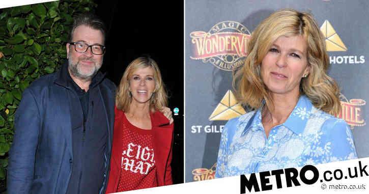Kate Garraway enjoys first night out since pandemic began as she says it's 'strange' without husband Derek