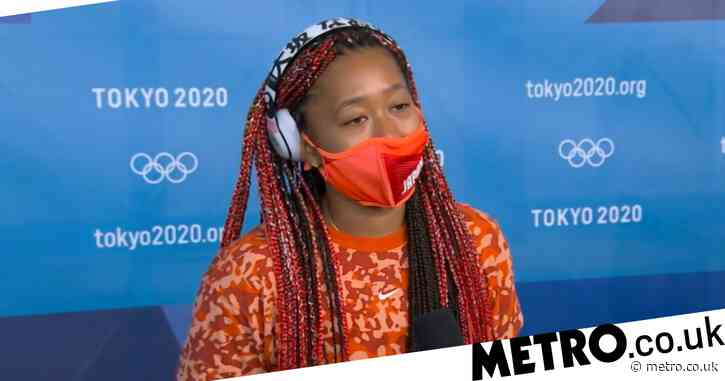 Tearful Naomi Osaka speaks out after shock third-round exit at Tokyo Olympics