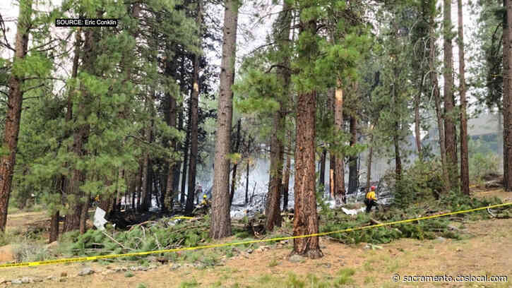 Pilot Says Truckee Plane Crash Likely Involved Issues With Visibility And Wind Speed