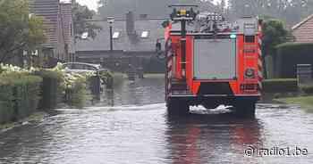 Code oranje in West-Vlaanderen, wateroverlast in Nieuwpoort en Knokke - Radio 1