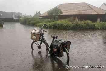 Nieuwpoort moet 60 liter water in uur tijd slikken: 'Nooit meegemaakt dat deze wijk onder water staat' - De Standaard