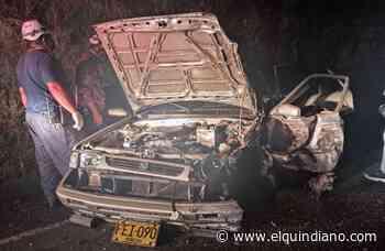 Trágico accidente en Montenegro - El Quindiano S.A.S.