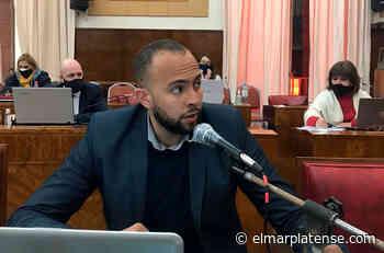 Nicolás Lauria dejó el bloque de concejales de Montenegro - El Marplatense