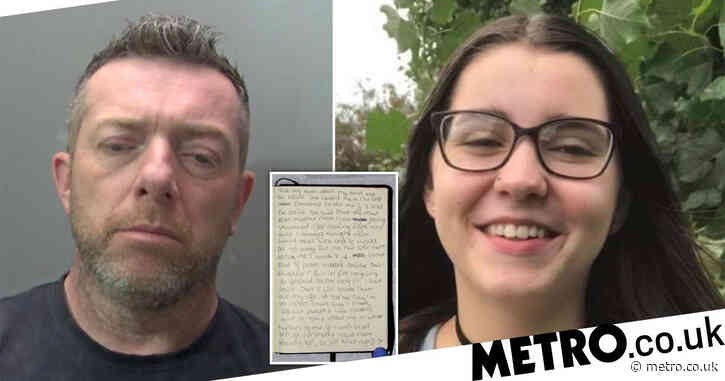 Teen murdered by abusive dad wrote in diary that parents 'threatened to kill' her