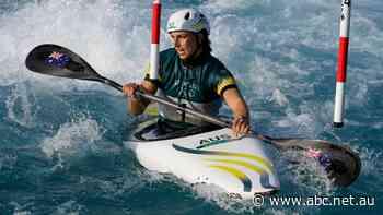 Live: Jess Fox paddling in K1 canoe slalom final, as Owen Wright wins surfing bronze